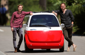 Swiss Brothers Get Ready to Refloat The Bubble Car