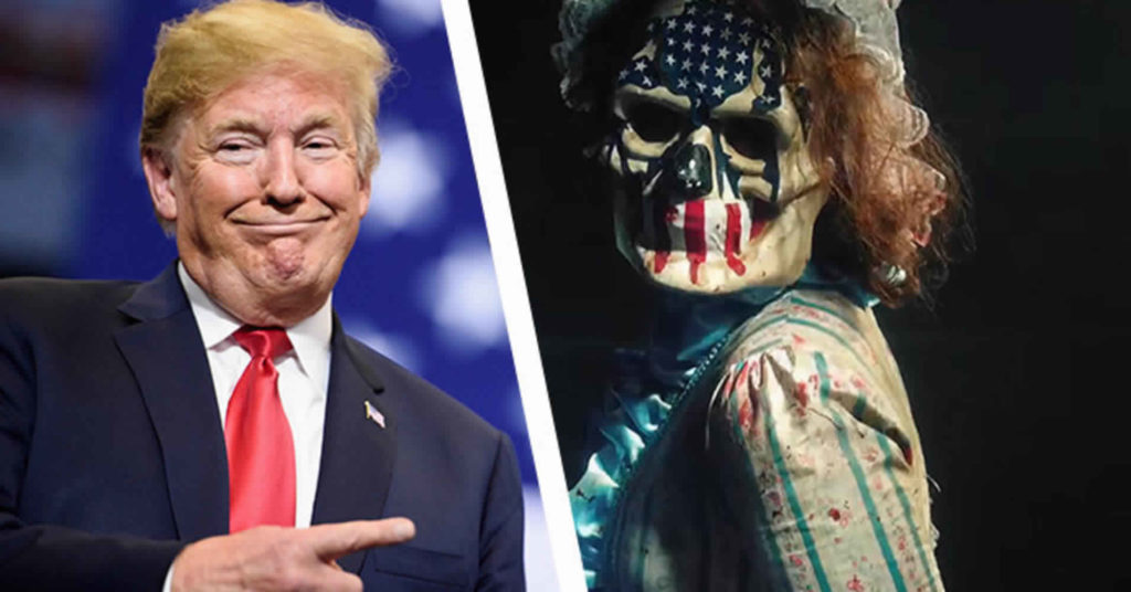 Donald Trump's New Campaign Slogan Is From A Horror Movie: An Update
