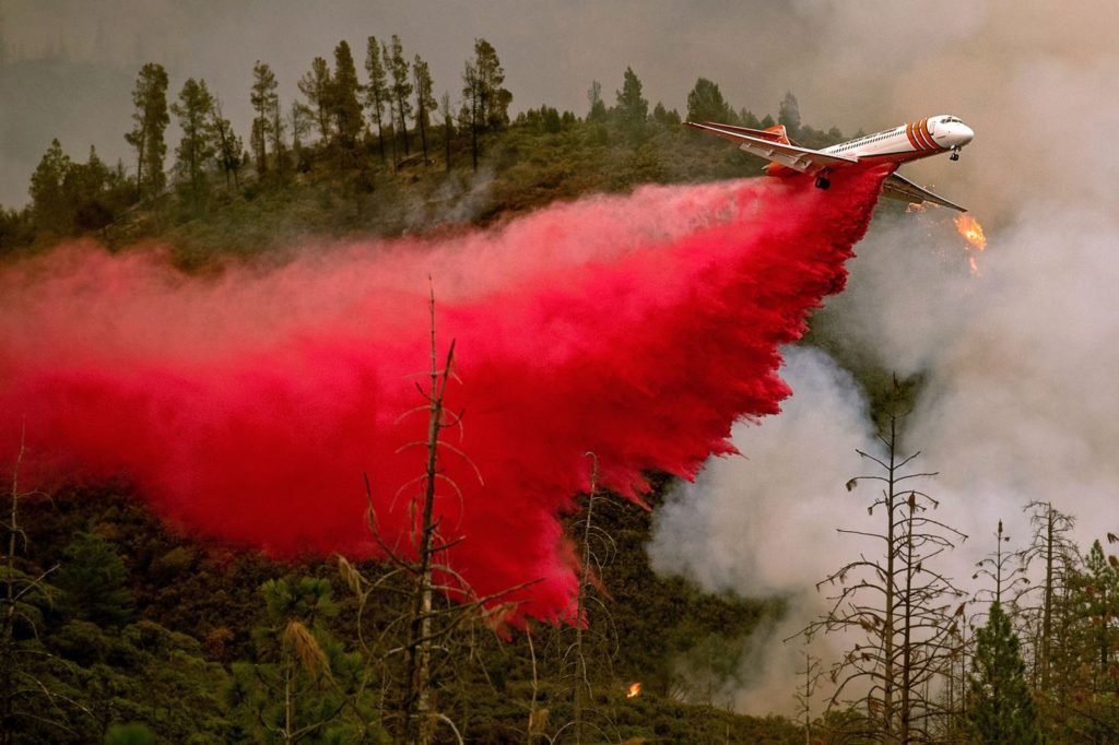 Too few 'fire bombers' as Western states burn this summer