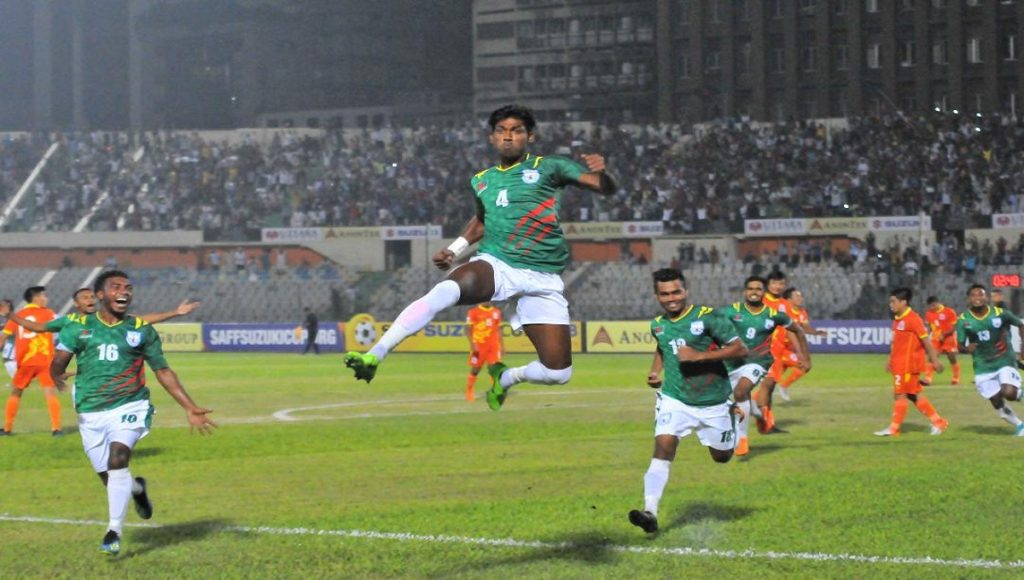 SAFF Suzuki Cup: Bangladesh off to flying start; beat Bhutan 2-0