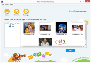 Kernel Photo Recovery