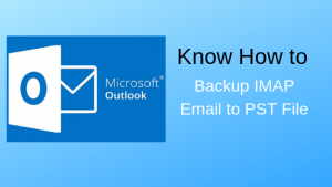 backup imap email to pst
